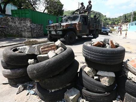 Polícia e Exército preparam ação de remoção de barricadas em SG
