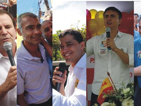 Candidatos a governador fazem campanha em São Gonçalo