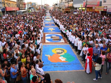 Itaboraí espera 5 mil em celebração de Corpus Christi