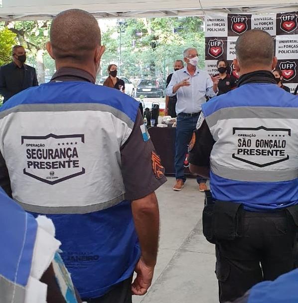 Prefeito promoveu café da manhã no bairro Estrela do Norte/Foto: Divulgação