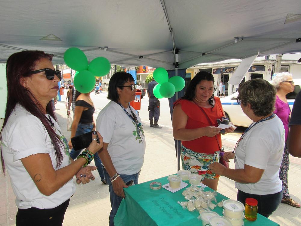 Voluntários ajudaram na ação/Foto: Divulgação