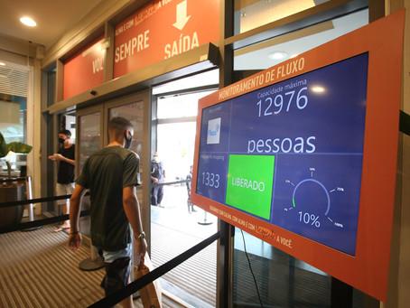 Shoppings de Niterói voltam a funcionar com restrições