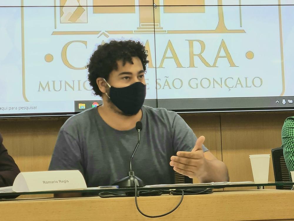 Romario/Foto: Câmara de Vereadores de São Gonçalo