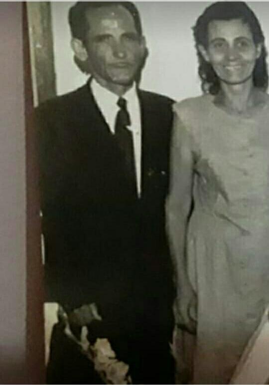 Maximiliano Constantino e Maria Fontoura (irmã de Manuel Fontoura)/Acervo Família Fontoura