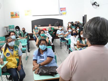 Agentes Comunitários de Saúde celebram 20 anos de atividades