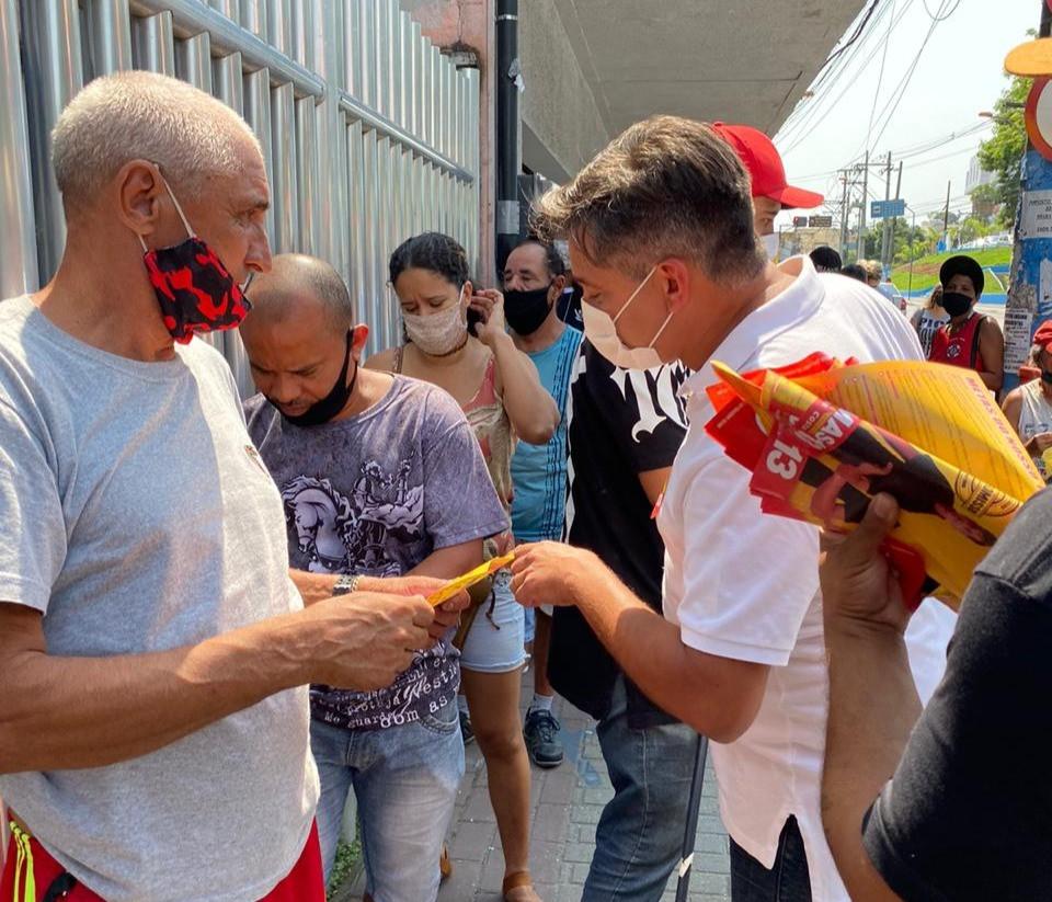 Candidato percorreu ruas do Centro/Foto: Divulgação