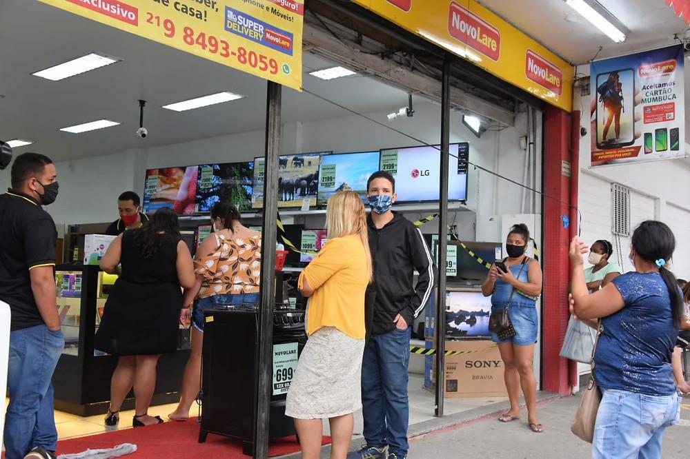 Comércio retomou atividades em junho/Foto: Clarildo Menezes