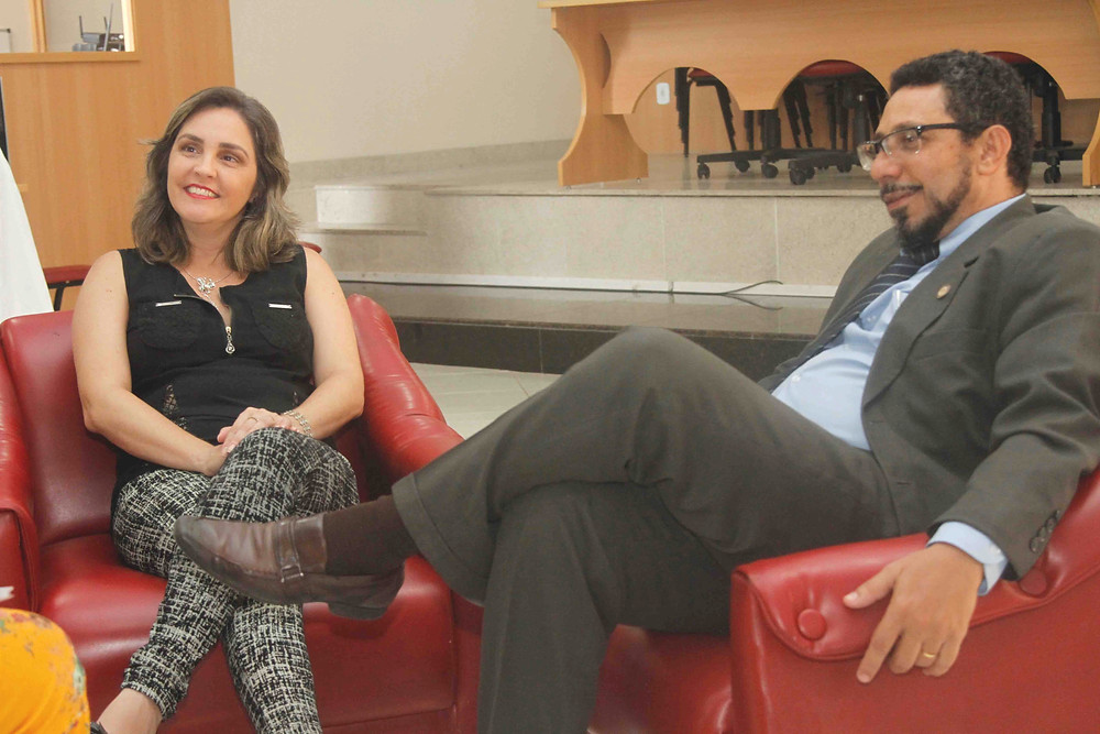 Eliano Enzo e sua esposa Francia Félix. Foto Divulgação
