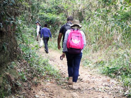 Meio Ambiente mapeia trilhas do Alto do Gaia