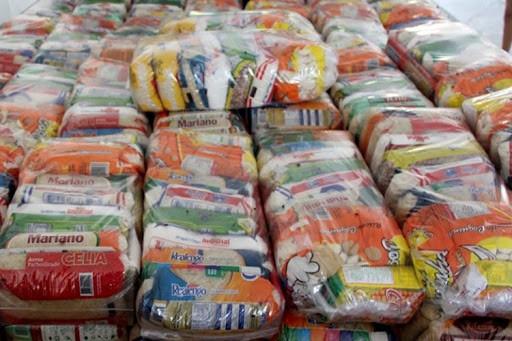 São mais de 8 mil cestas básicas/Foto: Divulgação