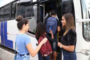 Itaboraí fará recadastramento de Transporte Universitário