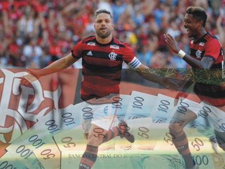 Flamengo atrai novos patrocinadores, por Victor Machado