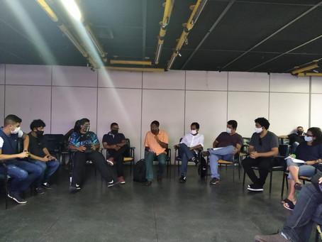 Secretário recebe Fórum Gonçalense de Cultura e abre diálogo com classe artística