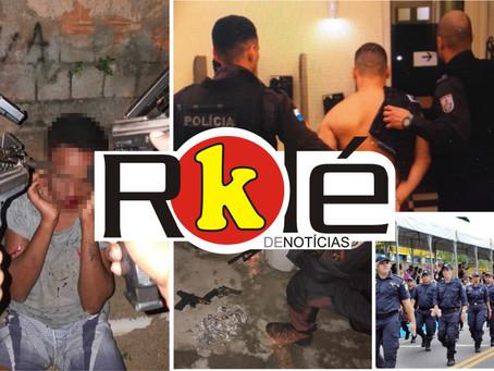 Dois mortos em confronto no Fonseca; Maricá abre 200 vagas em concurso pra Guarda Municipal e mais