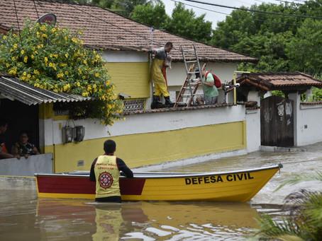 Em um dia choveu 80% do acumulado previsto para janeiro em Maricá
