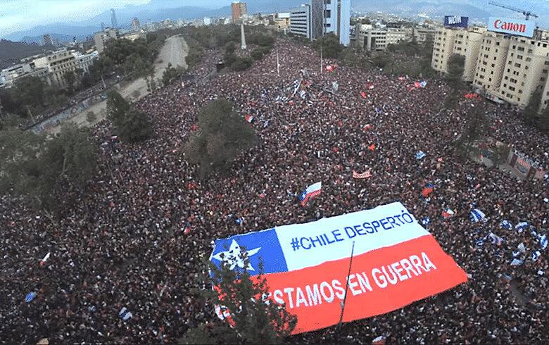 Manifestações populares pressionaram por mais direitos e participação popular - Reprodução