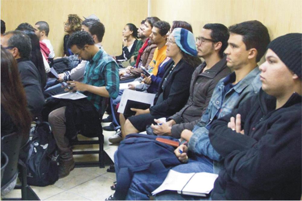 Público com participação ativa
