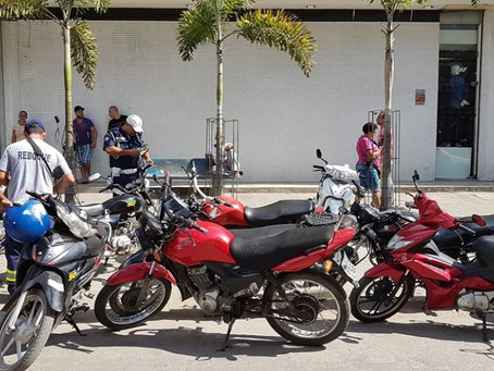 Operação da GM apreende 16 motos irregulares