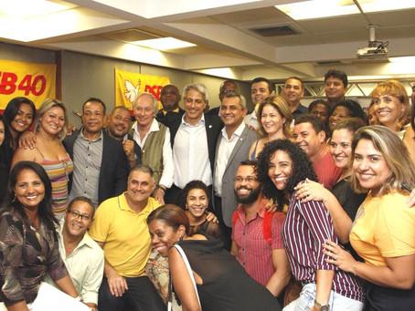 PSB: Molon presidente e Marlos secretário-geral