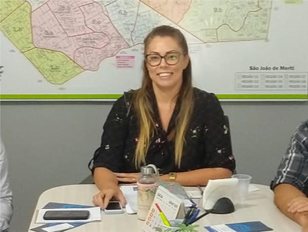 Maria Gabriela Bessa, a secretária de facto de Integração e Gestão, terá a árdua tarefa de atrair investimentos para São Gonçalo em meio à pandemia/Foto: Reprodução Facebook