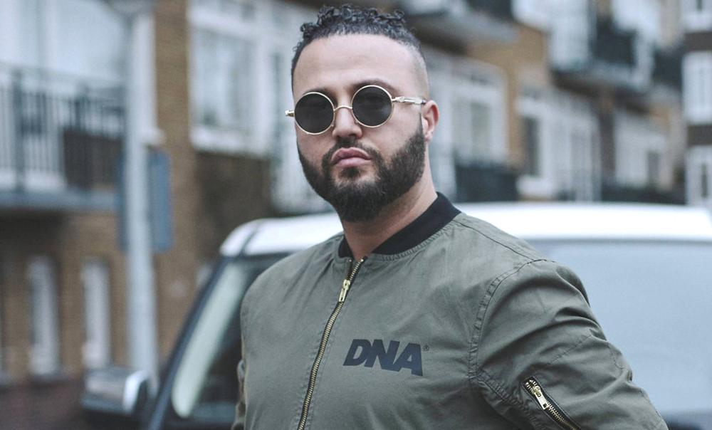 O rapper Safoan Mokhtari, em Amsterdã. El País