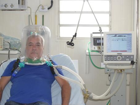 Tanguá adquire capacete respirador, aliado no tratamento da covid-19