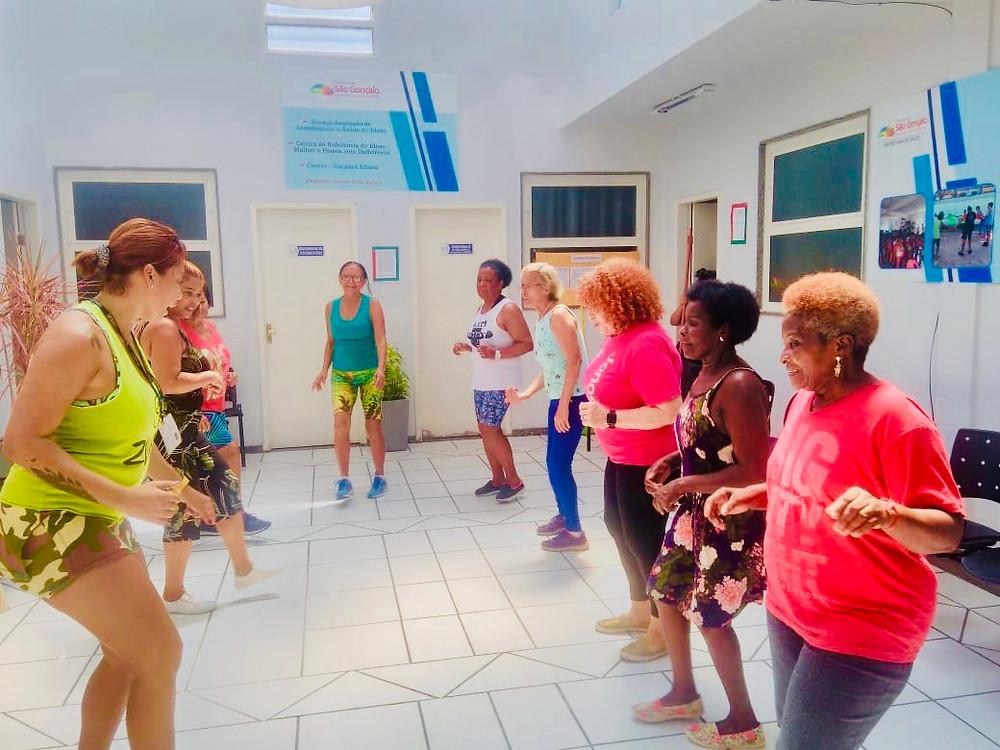 A programação contou com oficinas de zumba/Foto: Divulgação