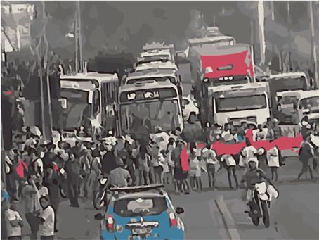 O protesto, por Fábio Rodrigo