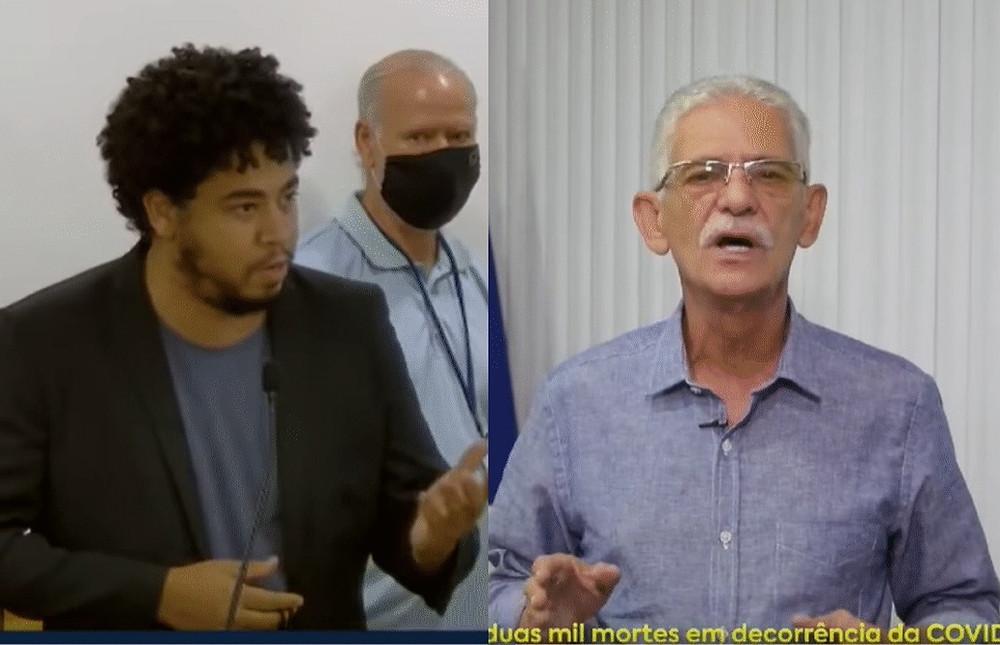 Romario faz severas críticas ao modelo de combate ao coronavírus implantado pelo prefeito/Foto: Reprodução