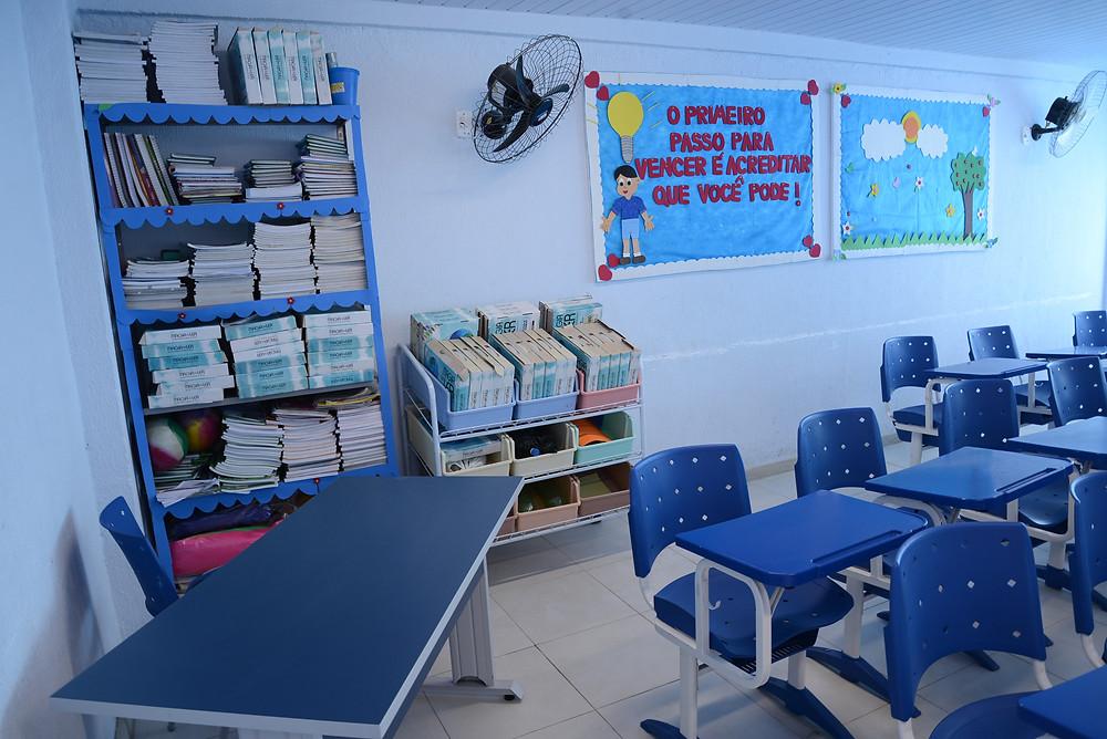 Escolas continuam vazias/Foto: Divulgação