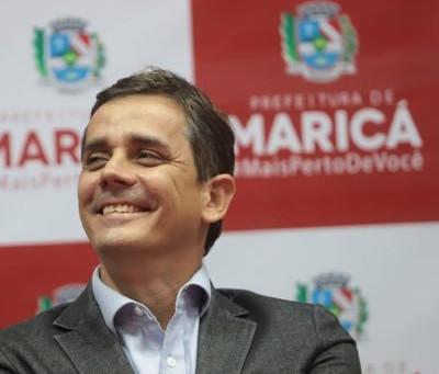 Fabiano Horta é reeleito com 88,09% dos votos dos maricaenses