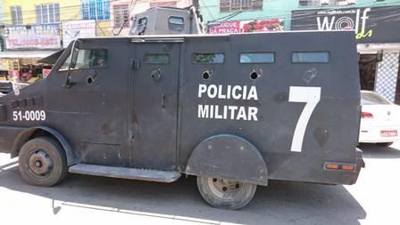 O som do caveirão do 7º Batalhão - por Mário Lima Jr.