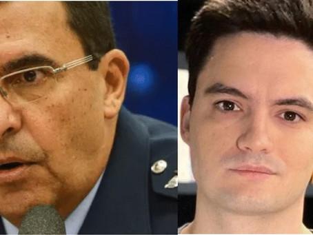 Felipe Neto para comandante da Aeronáutica: 'vai ameaçar a puta que pariu, babaca'