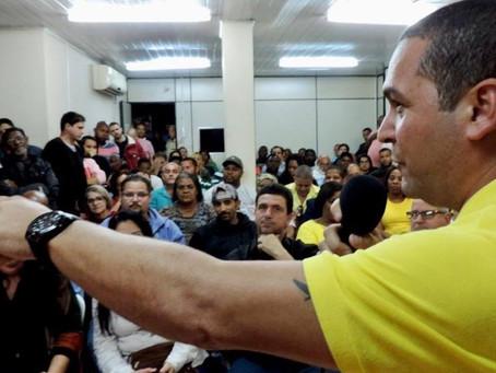 TSE devolve mandato a Sandro Almeida