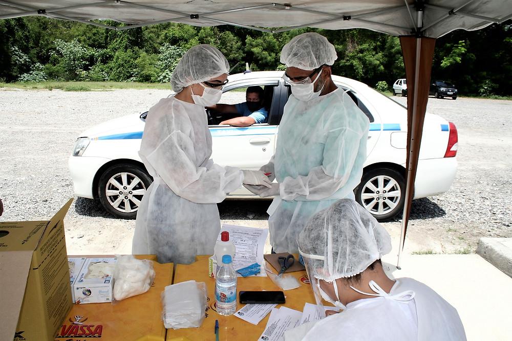 Testes são realizados em Neves/Foto: Divulgação