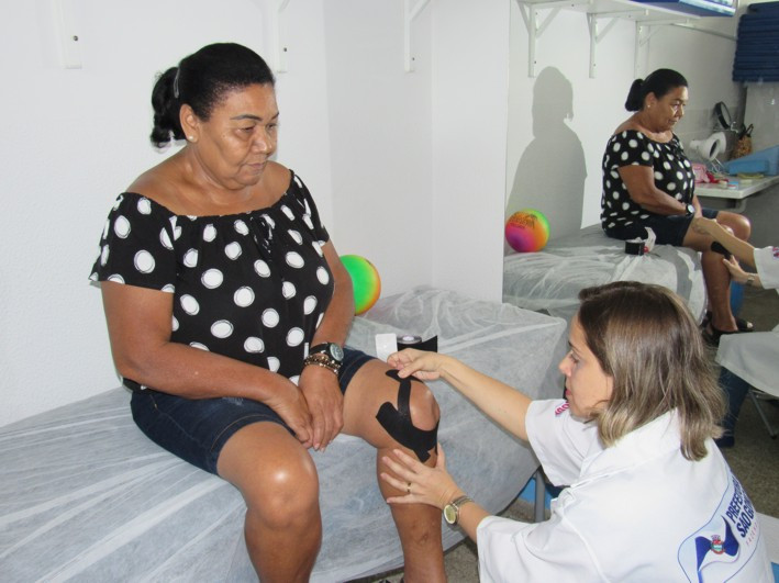 Rosângela Alves Carvalho trata de artrose/Foto:Divulgação