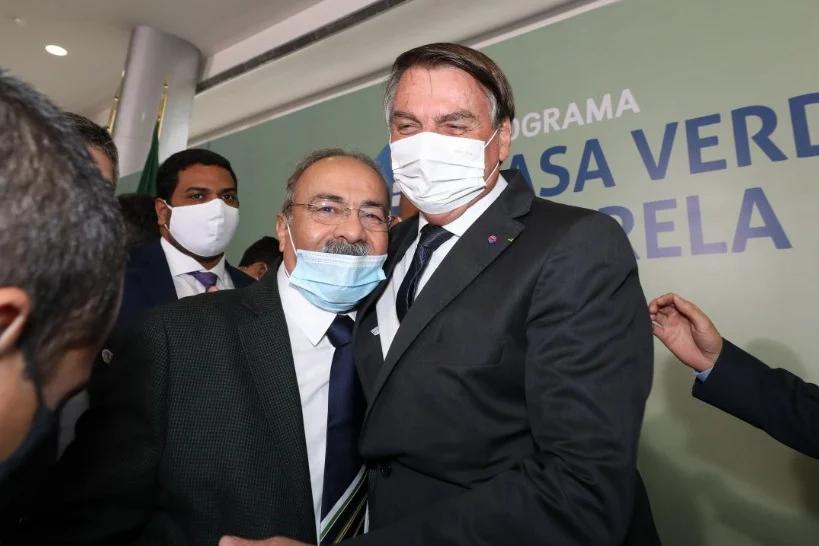 Chico Rodrigues e Bolsonaro (Reprodução/Twitter)