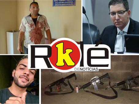 Família fica refém de bandidos em Itaboraí; Glenn Greenwald pode ser homenageado em Niterói e mais
