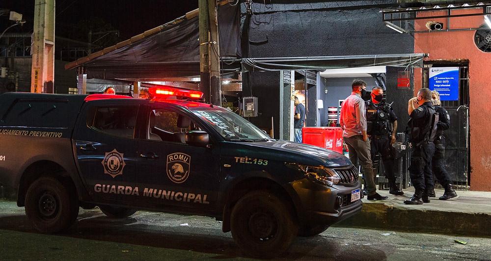 Guarda Municipal participou da operação/Foto: Divulgação