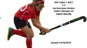 SHC Calais-ASC1 (3-3)