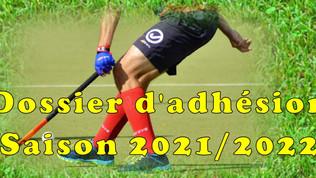 Dossier d'adhésion 2021/2022