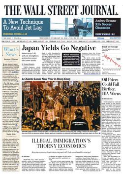 Feb 05, 2016 The Wall Street Journal