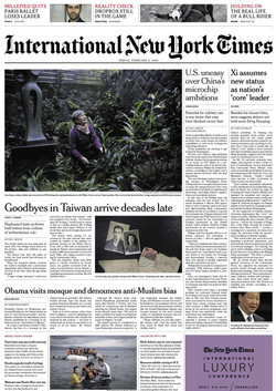 Feb 05, 2016 The New York Times