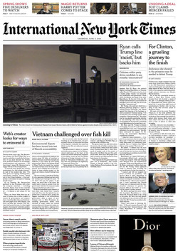 Jun 09, 2016 The New York Times
