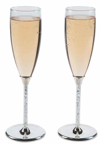 Crystalline-toasting-flutes