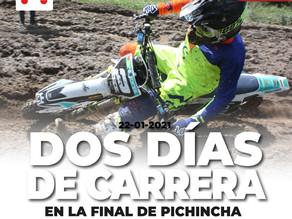 Pichincha cierra el 30 y 31 de enero su campeonato de motocross