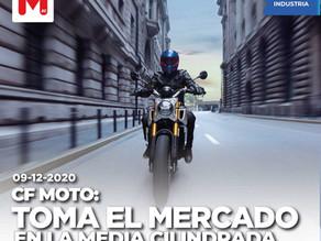CF Moto: a la toma del mercado en la mediana cilindrada
