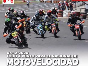 Todo a punto para el Nacional de Moto Velocidad