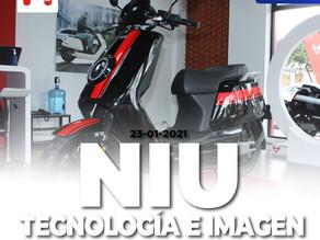 NIU, Presenta Cuatro Scooters Eléctricos