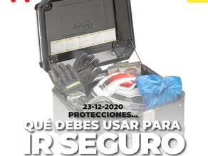 Protecciones...  Qué debes usar para ir seguro